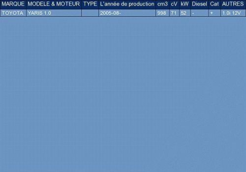 ETS-EXHAUST 2813 Silencieux arriere pour YARIS 1.0 71hp 2005-