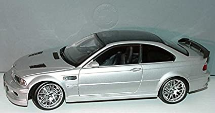 Buy Bmw M3 Gtr 1 43 Silver Online At Low Prices In India