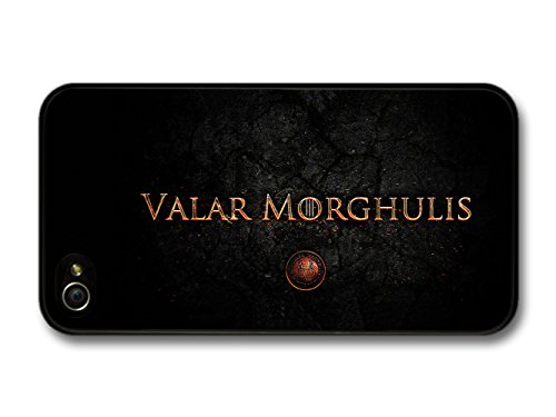 Game Of Thrones Valar Morghulis All Men Must Die Valyrian Quote hülle für iPhone 4 4S