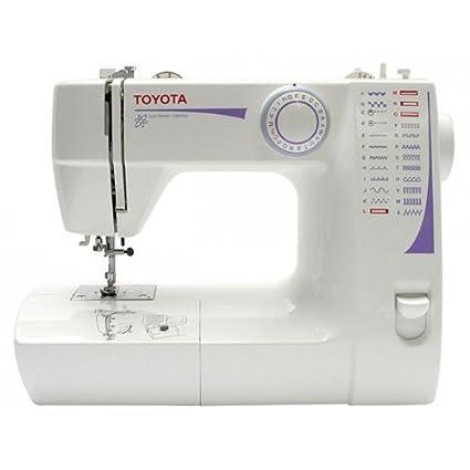 Toyota FSS224 Eléctrico - Máquina de coser (Blanco, Costura, Paso 4, Variable