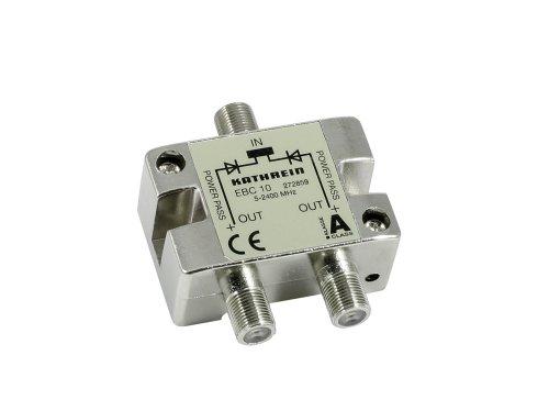 Kathrein EBC 10 2-fach-Verteiler (F-Anschluß) 5-2400 MHz