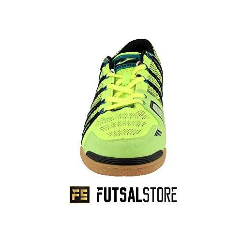 Joma , Herren Futsalschuhe Amarillo-Negro-Azul