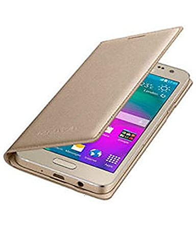 sports shoes d5d2a 24049 Freakz Shield Gold Leather Flip Cover For Samsung Z2