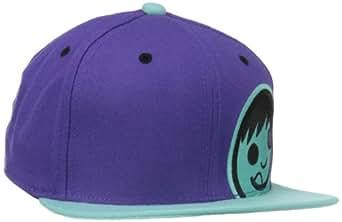 neff Men's Corpo Cap, Purple/Teal/Black, One Size