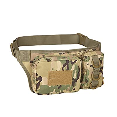 Mefly Poches Sports Outdoor Sports Deux Sacs Tactiques De Camouflage Mobile Poches Camouflage Phonescp