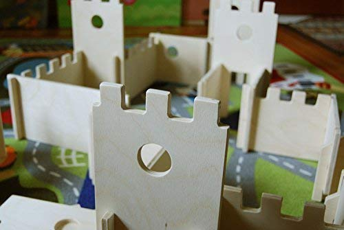 - Modular Castle Building Walls Playset