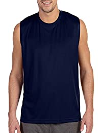 Men's Sleeveless Performance Muscle Shooter Workout Tee