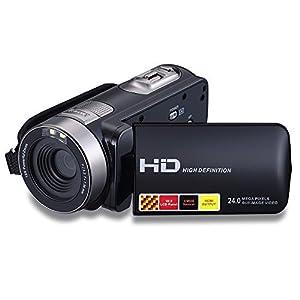 "KINGEAR Puto PLD016 2.7"" LCD Screen Digital Video Camcorder 24MP Digital Camera"