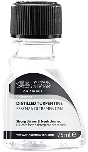Winsor Newton Distilled Turpentine 75ml