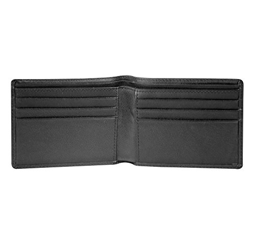 Wallet Tech Philips Andrew Secure Napa Flat Fold Black Florentine w7Znxp