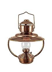 """Vermont Lanterns - Brass Trawler Nautical Hanging Oil Lamp 10"""""""