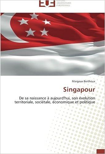 Epub bud télécharger des livres gratuits Singapour: De sa naissance à aujourd'hui, son évolution territoriale, sociétale, économique et politique 3841744958 in French PDF MOBI