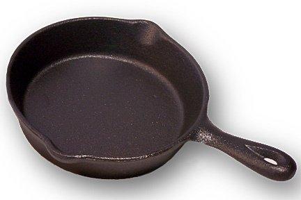 古いMountain Cast Iron Spoon Rest mini-skillet-0166 – 10137 by不明 B01C85T8LG