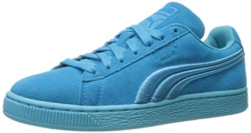 PUMA Men's Classic Badge Fashion Sneaker Blue Atoll discount 100% authentic 6CEkPRcs2