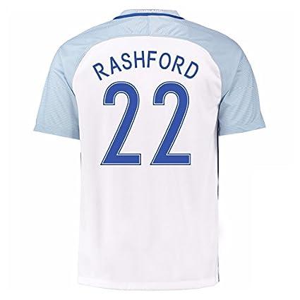 super popular 58a77 efa4f Amazon.com : 2016-17 England Home Football Soccer T-Shirt ...