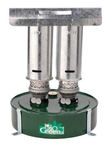 Bio Green Paraffinheizung Warmax-Power 5, schwarz/silber