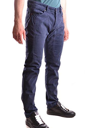 Jeckerson Homme MCBI162066O Bleu Coton Jeans