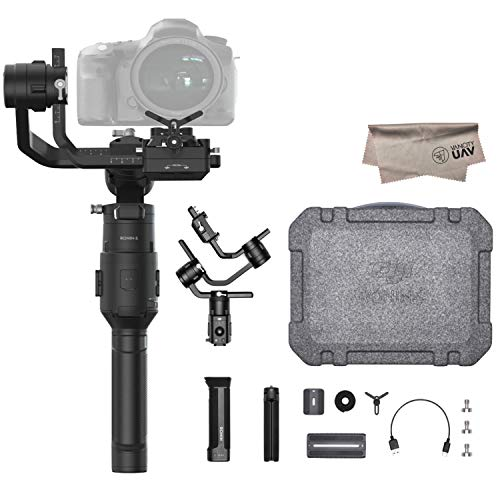 2019 DJI Ronin-S Essentials Kit 3-Axis Gimbal Stabilizer for Mirrorless