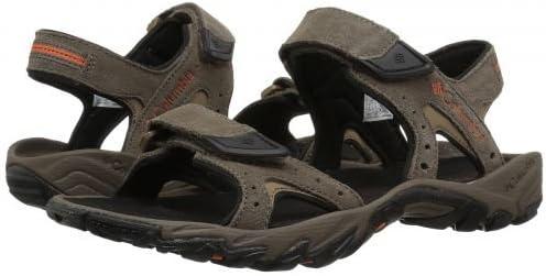 メンズ 男性用 シューズ 靴 サンダル フラット Santiam 2 Strap - Mud/Heatwave [並行輸入品]