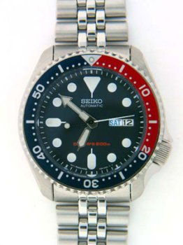 Seiko Men's SKX175 Stainless Steel Automatic Dive Watch by Seiko Watches