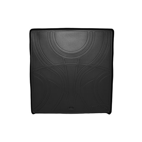 Limited Mat Body (MAXTRAY All Weather Cargo Liner Floor Mat Behind 2nd Row Black for 2007-2016 GMC Acadia / 2017 Acadia Limited (Old Body Style) / 2007-2010 Outlook)