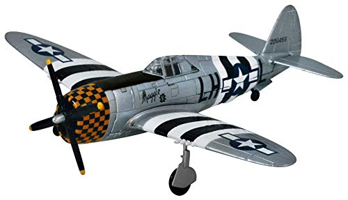 Metal Model Airplanes - Smithsonian Museum Replica Series P-47 Thunderbolt - 1/48 Scale
