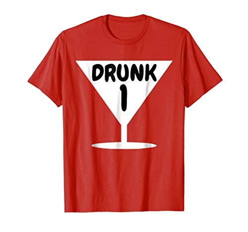 Funny Drunk 1 Party Thing Halloween Costume T-shirt