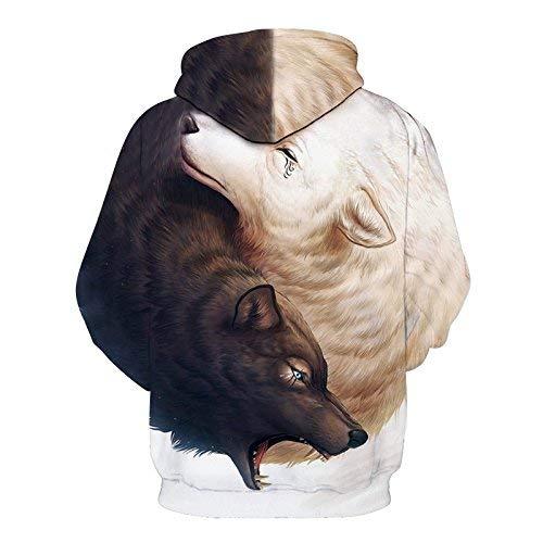 Brown Brown Prodotto Cappuccio Donna Laterali 3D 3D 3D Manica Battercake Elegante Cappuccio Swag Donne Moda Streetwear Stampa Casuale Donna Primaverile Autunno Femminilità Tasche Felpa Hoodie Felpa Lunga Plus HUqS7f