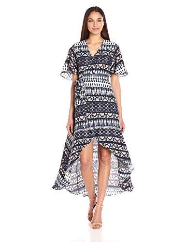 Shibori Plus Jessica Women's Size Simpson Dress Amethyst YESqO