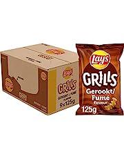 Lay's Grills Chips, Doos 9 stuks x 125 g