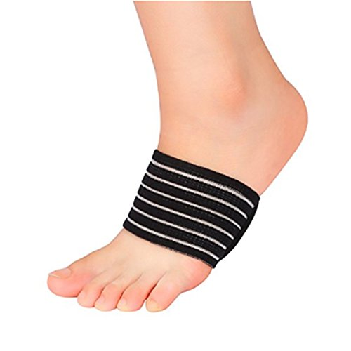 ULAKY Foot Heel Pain Relief Plantar Insole Fasciitis Aid Fallen Arches Flat