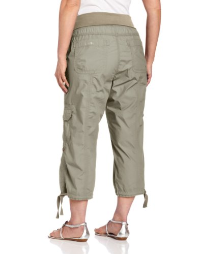Calvin Klein Performance Women's Plus-Size Roll Waist Cargo Capri ...