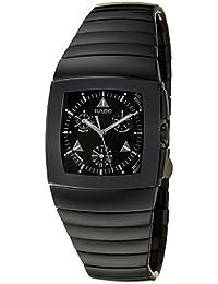Sintra Chronograph Black Ceramic Mens Quartz Watch Black Dial Calendar R13764152