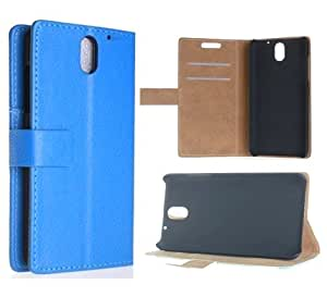 [HTC Desire 610],Leather HTC Desire 610 case,HTC Desire 610 Case,HTC Desire 610 Flip Leather,HTC Desire 610 Wallet Case,Canica PU Book Style Design Leather Case Cover For HTC Desire 610 Blue