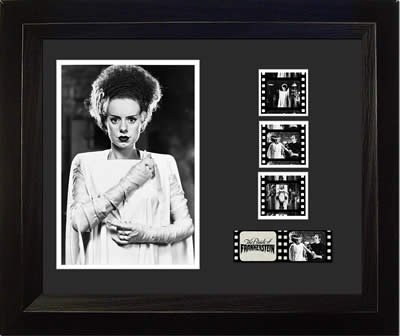 Bride of Frankenstein E.Lanchester (1935) - Movie Film Cell Ed Bedrick Autographs