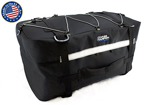 Chase Harper 4100 B'Alaska Tail Trunk - Water-Resistant, Tear-Resistant, Industrial Grade Ballistic Nylon with Adjustable Cinch Strap Mounting System for Universal Fit, 37.7 Liters of Storage - 21