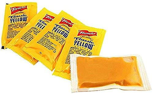 French's Mustard Packets 5.5 g 500 count (2 Pack) Mustard