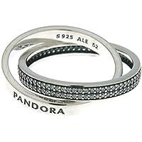 PANDORA Promise Ring, Clear CZ 196547CZ-50 EU 5 US