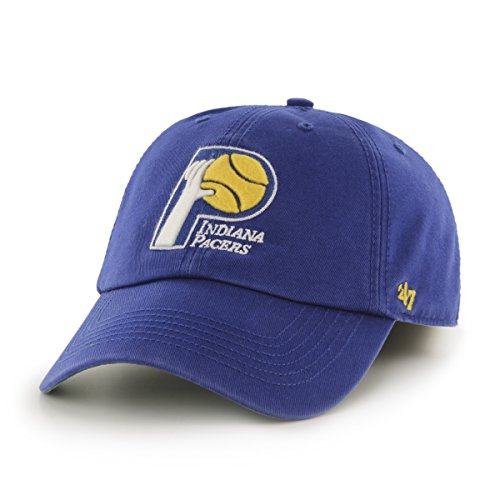 NBA Indiana Pacers '47 Franchise Fitted Hat, Royal, Medium - Medium Cap Hoop