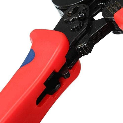 プライヤーツール8 6-4A0.25-6mm²23-10フェルールクリンパープライヤー自動調整ラチェットハードウェアツールキット