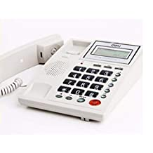 Telephone/Home Landline Battery-Free Office Commercial landline Caller ID Telephone,White