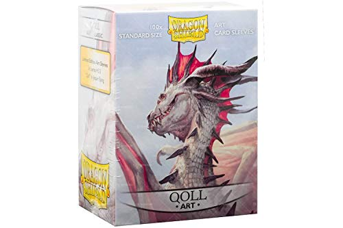 Sleeves: Dragon Shield Limited Edition Art Sleeves: Qoll