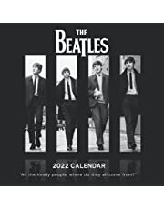 2022 Calendar: The Beatles Calendar 2022 18-month from Jul 2021 to Dec 2022 in mini size 7x7 inch