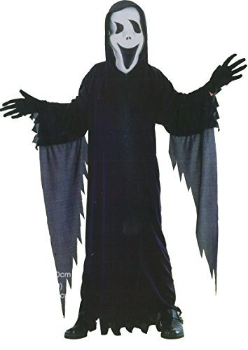 GUBA Little Boys' Screecher Scream Ghost Costume Outfits Halloween Small (4-6 Years) Screecher Scream