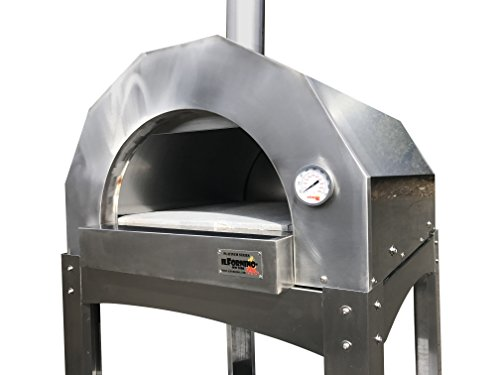 ilFornino Platinum Series Stainless Steel Wood Fired Pizza Oven by ilFornino