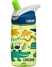 CamelBak Eddy 0.4-Liter Kids Water Bottle – Easy to Use for Kids - CamelBak Kids Big Bite Valve - Spill Proof- Not For Children Under 3 Years - Water Bottle For Kids - BPA-Free Water Bottle – 12 Ounces