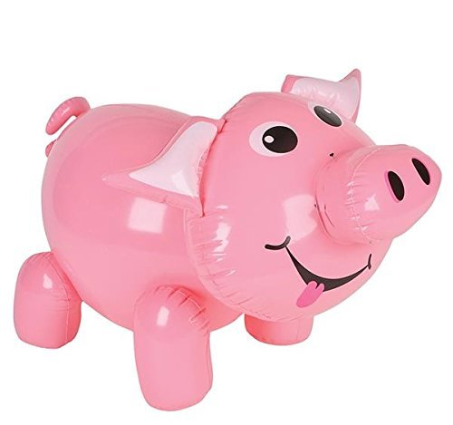 Pig Pool - RIN Set of Six (6) Adorable Pig Inflates- 24