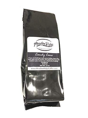 (Meadow Ridge Coffee Peppermint Candy Cane 100% Arabica Coffee, Medium Roast - 12 Ounce Ground)