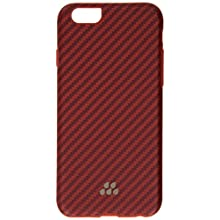 Evutec Karbon SI Lorica Carrying Case for Apple iPhone 6 - Retail Packaging - Lorica Red/Orange