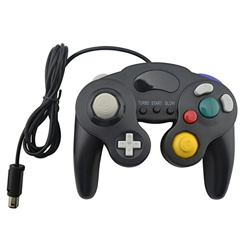 ller With Three Button for GameCube Black (Gamecube Controller Buttons)